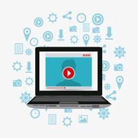 Estrategias de marketing digital y social.