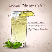 Cocktail Moskva mule