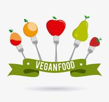 Food design vegano.