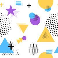 Vektor-Illustrations-Muster-Grafik-Verzierung