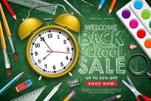 De volta ao projeto de venda de escola com lápis colorido