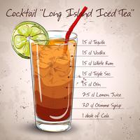 Coquetel Long Island Iced Tea