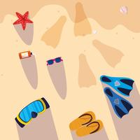 Hola diseño de verano y vacaciones.