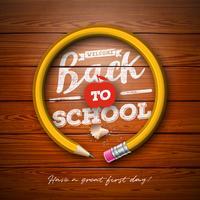 Ritorno a scuola con la matita di grafite