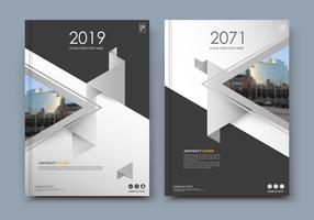 White Brochure Design.