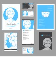 Fashion templates for card, flyer, poster, brochure and leaflet design.