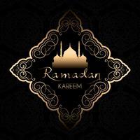 Stijlvolle Ramadan Kareem-achtergrond