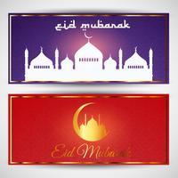 Eid Mubarak-banners