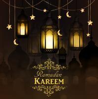 Ramadan Kareem, Hintergrund grüßend