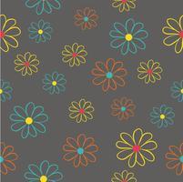 patrón sin costuras flores