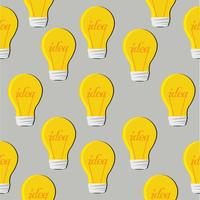 light bulb flat pattern