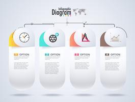 Diagrama de infográfico. Fluxograma de diagrama.