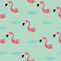 cute flamingo pattern