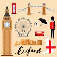 Tourist England Travel set collectie