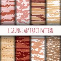 8 Line abstract pattern background set collection