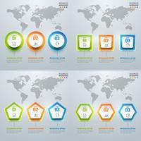 Collection d'infographies et de diagrammes colorés