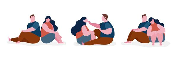 Illustration du personnage gros couple