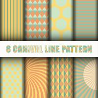 8 Carnival line pattern background