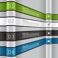 Modèle de rapport d'infographie.