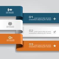 Modèle de conception infographique.