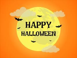 Luna llena de halloween
