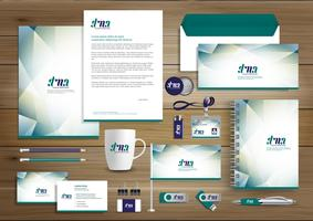 Corporate Business Identity Set