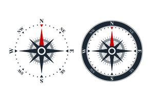 Compass rose icons