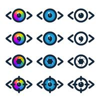 Icone di visione e media