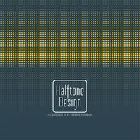 Blue and Yellow Halftone Design