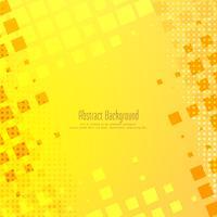 Diseño de mosaico amarillo brillante