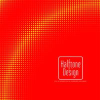 Red and Yellow Halftone Design