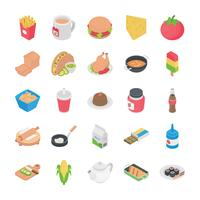 Cuisines Flat Icons vector