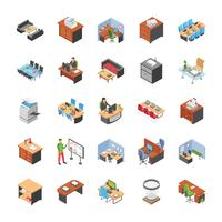 Pack Of Office Workplace Icons