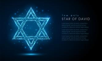 Estrella de David. vector