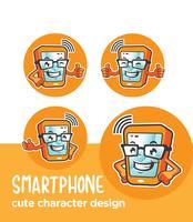 Telefon Maskottchen Design