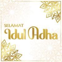 idul adha design vector
