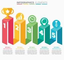 INFOGRAPHICS Business Staircase design
