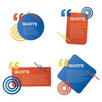 Quote Shapes Collection