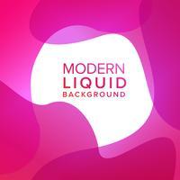 Disegno di sfondo rosa liquido