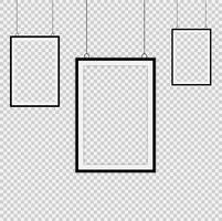 Conjunto de marcos negros