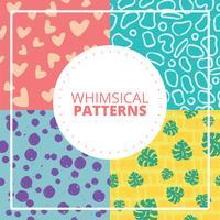 Nyckfull mönster