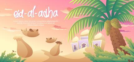 Eid Al Adha en el Medio Oriente