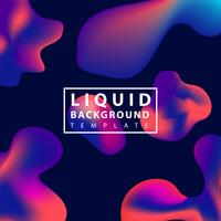 Fluid abstract background vector
