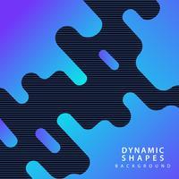 modern dynamic shapes background