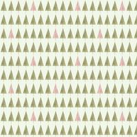 Seamless Cute Trees Pattern vector