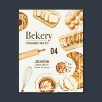 Bakery Poster template collection