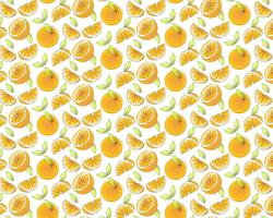Orange fruktmönsterbakgrund