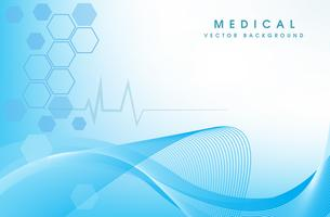 health care innovation concept background vector design.