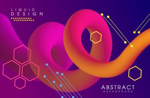 Abstract Fluid creative templates