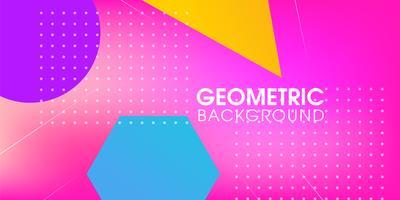 Résumé géométrique créatif